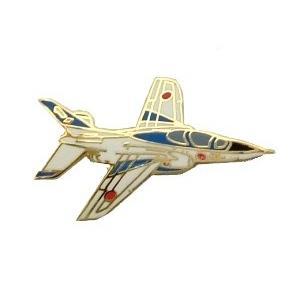 【航空自衛隊】ブルーインパルス T-4 ピンバッジ(右向き)|nammara-store