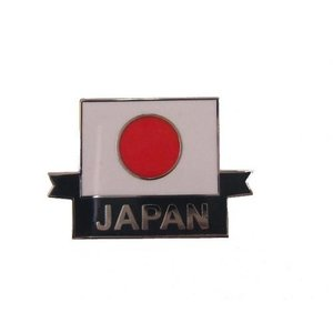 【日本国】日章旗(日の丸) JAPAN ピンバッジ(the Japanese flag and JAPAN Pins)|nammara-store