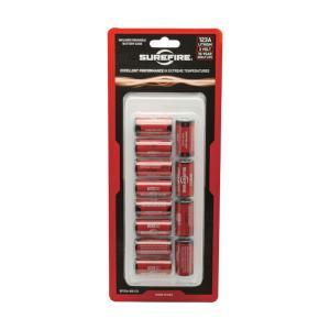 【リチウム電池】SUREFIRE(シュアファイア) リチウム電池 SF123A(3V) 12個セット|nammara-store