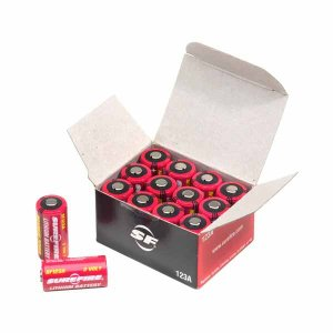 【リチウム電池】SUREFIRE(シュアファイア) リチウム電池 SF123A(3V) 48個セット|nammara-store