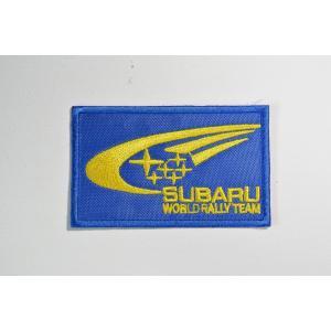 【ワッペン】SUBARU(富士重工業/スバル) WRCエンブレムロゴ ワッペン(SUBARU WRC Patch)|nammara-store