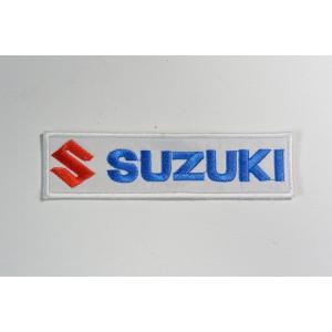 【ワッペン】SUZUKI(スズキ) エンブレムロゴ ワッペン(SUZUKI Patch)|nammara-store