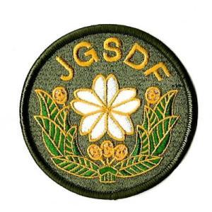 【陸上自衛隊】JGSDF 陸上自衛隊マーク ワッペン OD(JGSDF Patch)|nammara-store
