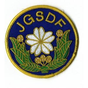 【陸上自衛隊】JGSDF 陸上自衛隊マーク ワッペン 紺(JGSDF Patch)|nammara-store