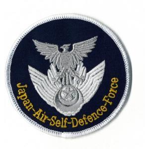 【航空自衛隊】JASDF 航空自衛隊マーク ワッペン 紺(JASDF Patch)|nammara-store