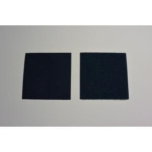 【ワッペン用】YKK製Quicklon(クイックロン) ベルクロ(マジックテープ) 【10cm×20cm/ネイビー】|nammara-store
