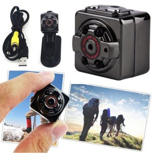 Full HD 1080P 高画質 超小型 ピンホール アクションカム 録画カメラ 防犯