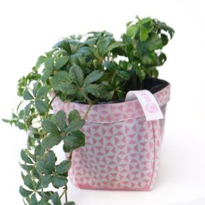 ガーデニング用プランターカバー ノベルティグッズ uchi-green 鱗 ピンク|namustore