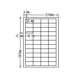 LDW44C(L)【44面/表示・商用ラベル】ナナクリエイト(東洋印刷) ナナワード ナナラベル|nana