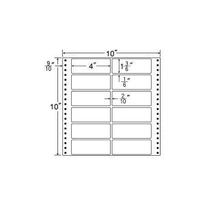 M10H(VP2)【12面/連続ラベル】ナナクリエイト(東洋印刷) ナナフォーム ナナラベル|nana