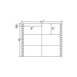 M11A(VP5)【6面/連続ラベル】タックフォーム ナナクリエイト(東洋印刷) ナナフォーム ナナラベル|nana