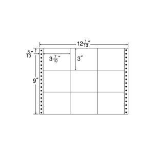 M12O(VP2)【9面/連続ラベル】ナナクリエイト(東洋印刷) ナナフォーム ナナラベル|nana
