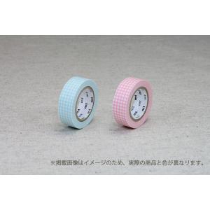 mtマスキングテープ / 幅15mm / チェック柄 / さくらピンク / ミントブルー / 方眼 / mt / MT01D395 / MT01D393 nana