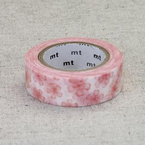 mtマスキングテープ / 幅15mm / 桜/  カモ井加工紙 / 花柄 / mtex さくら nana