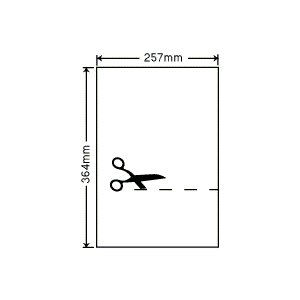 PF7B4(VP) 透明保護フィルム B4/ノーカット 200シート|nana