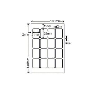 PFH-1(S)【透明保護フィルム はがきサイズ 16面/10シート入り】(プリクラ用透明保護フィルム)(紫外線カットで耐久性アップ!) ナナクリエイト(東洋印刷)|nana
