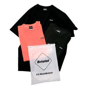 エフシーレアルブリストル F.C.Real Bristol 20AW 3PACK TEE FCRB-202077 3枚パック Tシャツ セット F.C.R.B. ブラック オレンジ カーキ|nanainternational
