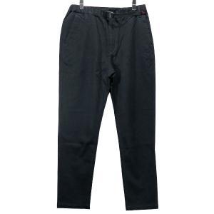 ホワイトマウンテニアリング White Mountaineering x グラミチ GRAMICCI STRETCHED TWILL TAPERED PANTS ストレッチツイルテーパードパンツ チャコール|nanainternational