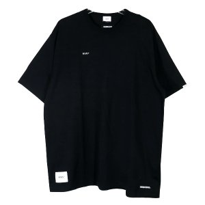 WTAPS ダブルタップス x NEIGHBORHOOD ネイバーフッド 19AW RIPPER SS/TEE.WTAPS×NEIGHBORHOOD 192ATNHD-CSM01S リッパー Tシャツ ブラック 黒|nanainternational