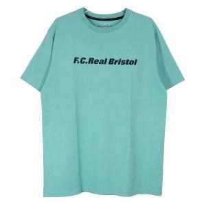エフシーレアルブリストル Tシャツ F.C.Real Bristol 21SS AUTHENTIC TEAM LOGO TEE FCRB-210064 オーセンティック チーム ロゴ ライトブルー F.C.R.B.|nanainternational