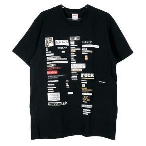 SUPREME シュプリーム 18AW CUTOUTS TEE カットアウツ Tシャツ ブラック 黒 ショートスリーブ 半袖|nanainternational