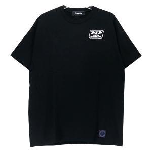 M&M CUSTOM PERFORMANCE エムアンドエム カスタムパフォーマンス x MASSES マシス 80s TEE LET'S MAKE MANKIND GREAT AGAIN Tシャツ ブラック|nanainternational