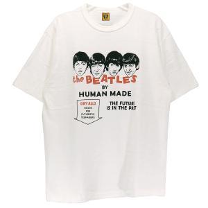 ヒューマンメイド HUMAN MADE Tシャツ T-SHIRT BEATLES HM22TE008 ビートルズ ホワイト 白|nanainternational