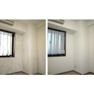 空室(居住者なし)の壁紙クロス張替えを ¥700/m2 にて行います。 当店は多能工職人による直接施...