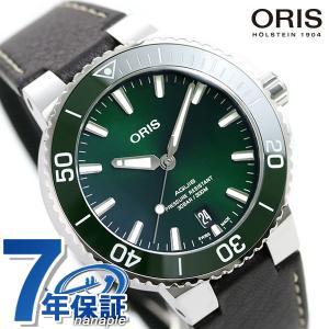 【25日は+14倍でポイント最大27倍】 オリス ORIS アクイス デイト 39mm メンズ 腕時...