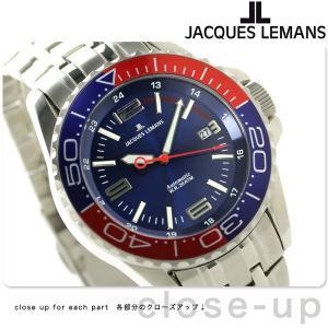 22日までエントリーで最大33倍 ジャックルマン リバプール ダイバー 20気圧防水 自動巻き 1-1353F 腕時計