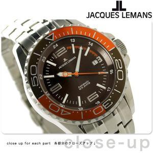 ジャックルマン リバプール ダイバー 20気圧防水 自動巻き 1-1353G 腕時計