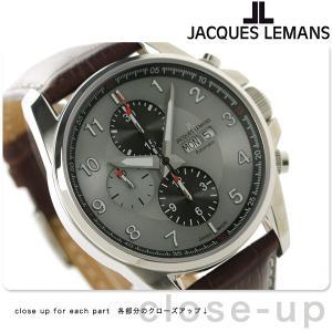 【あすつく】ジャックルマン リバプール クロノグラフ 自動巻き 腕時計 1-1750B
