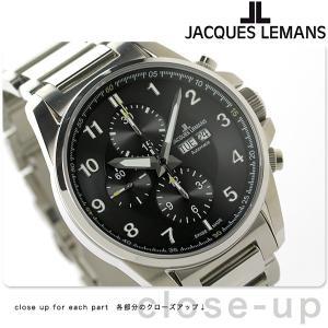 【あすつく】ジャックルマン リバプール クロノグラフ 自動巻き 腕時計 1-1750D