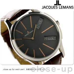 ジャックルマン ロンドン GMT メンズ 腕時計 1-1788D