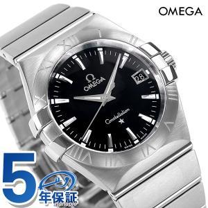 20日からエントリーで最大19倍 オメガ OMEGA メンズ 腕時計 コンステレーション デイト クオーツ 123.10.35.60.01.001 新品