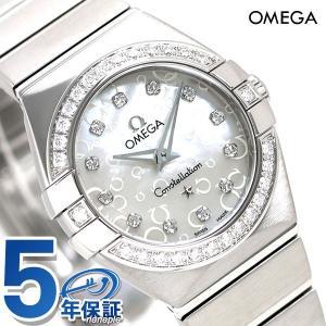 24日までエントリーで最大21倍 オメガ 時計 コンステレーション ダイヤモンド 24mm 123.15.24.60.55.005 OMEGA 腕時計 新品