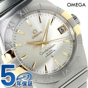 20日からエントリーで最大19倍 オメガ コンステレーション コーアクシャル 38MM 自動巻き 123.20.38.21.02.005 腕時計