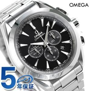 オメガ シーマスター アクアテラ 150M クロノグラフ 自動巻き メンズ 腕時計 231.10.44.50.01.001 OMEGA ブラック|nanaple