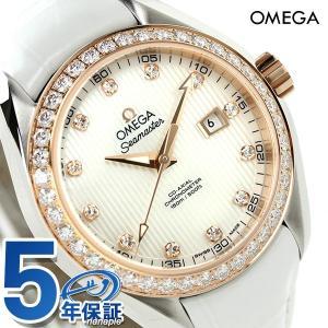 オメガ シーマスター アクアテラ 34mm 自動巻き 腕時計...
