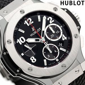 new style bdea2 56a3c 今ならポイント最大21倍! ウブロ HUBLOT ビッグバン スチール 自動巻き 301.SX.130.RX 腕時計 新品 時計