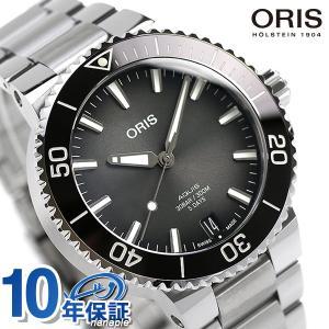 オリス アクイス デイト キャリバー400 ダイバーズウォッチ 自動巻き メンズ 腕時計 01 40...