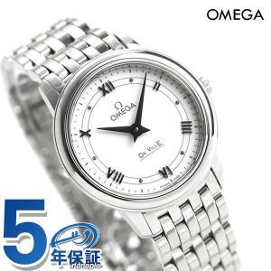 オメガ デビル プレステージ クオーツ 27.4mm レディース 腕時計 424.10.27.60.04.001 OMEGA 時計 新品|nanaple