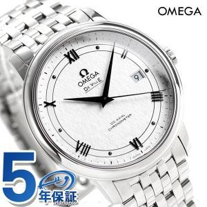 オメガ デビル プレステージ コーアクシャル 39.5mm メンズ 腕時計 424.10.40.20.02.005 OMEGA 時計 新品|nanaple