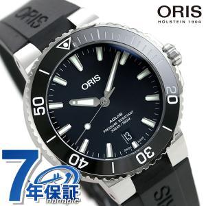 【25日は+14倍でポイント最大29倍】 オリス ORIS アクイス デイト 39mm メンズ 腕時...