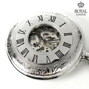 ロイヤルロンドン 懐中時計 手巻き 90009-02 ポケットウォッチ|nanaple