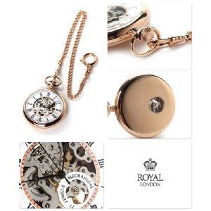 ロイヤルロンドン 懐中時計 手巻き 90049-03 ポケットウォッチ|nanaple|02