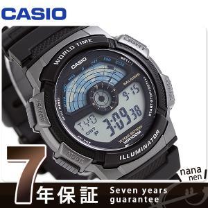 カシオ チプカシ スタンダード ワールドタイム AE-1100W-1AVDF 腕時計