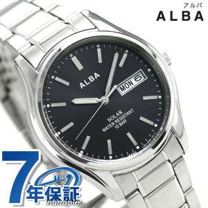 セイコー アルバ ソーラー メンズ 腕時計 AEFD540 ...