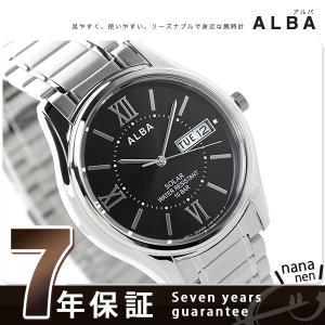 セイコー アルバ ソーラー メンズ AEFD553 SEIKO 腕時計|nanaple