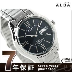 セイコー アルバ ソーラー メンズ 腕時計 AEFD555 SEIKO|nanaple